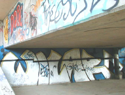 Before: Wall With Graffiti